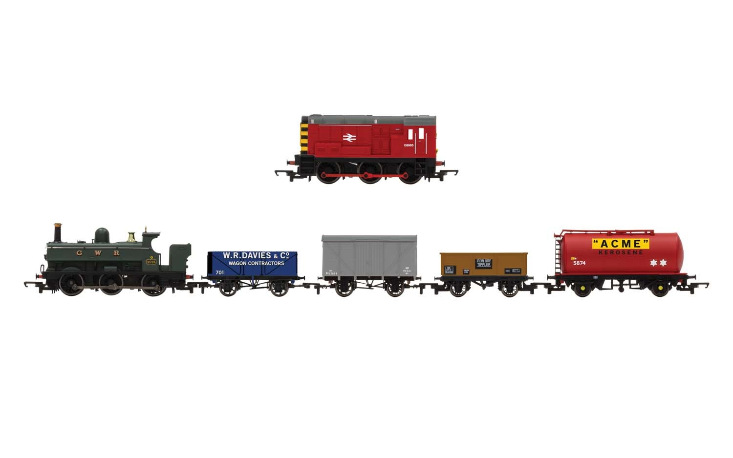 Hornby R1236 Mixed Freight DCC Train Set